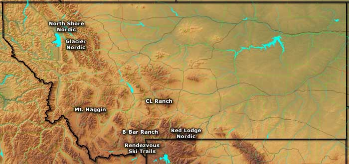 ski areas in montana map Ski And Snowboard Areas In Montana
